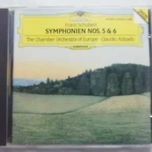 Schubert: Symphonies Nos. 5 & 6 / Abbado / COE / DG CD 423 654-2