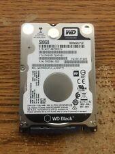 WD Black 500 GB Mobile Hard Drive WD5000LPLX 2.5in 7200 RPM