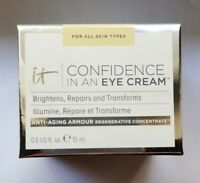 It Cosmetics - Confidence in an Eye Cream - Full Size - New in Box