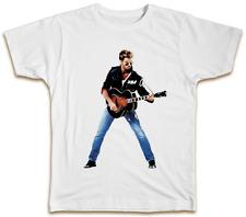 George Michael Guitar T-Shirt - Retro Vintage Summer Music Wham Top Gift