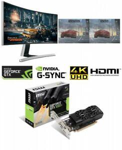 MSI Video Card GEFORCE GTX 1050 TI 4GT LP LowProfile PCI Exp x16 4GB GDDR5 Japan