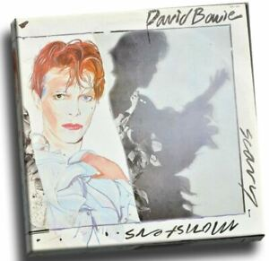 David Bowie - Scary Monsters Giclee Canvas Album Cover Picture Art