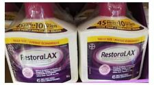 RestoraLAX Polyethylene Glycol Occasional Constipation 90 Doses Sealed+10onthego