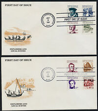 Micronesia 5-20 on FDC's - Famous People, Architecture, Canoe, Mask, Waterfall