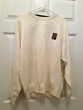 NWT Dr. Pepper 7-UP Men's Tommy Hilfiger Crewneck White Logo Sweater Large