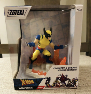 Zoteki WOLVERINE Marvel X-Men #010 Zag Toys Action Figure Connect & Create
