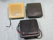Lot Of 3 Motorola Ge External Speaker For Ham Mobile Uhf Vhf 800 Radio Scanner