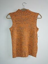 Anthropologie Knitted  Sunrise Sweater Tank Top RRP £70 Size Small New
