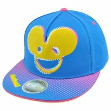 Deadmau5 International DJ Dubstep House Music Applique HD Print Snapback Hat Cap