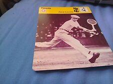 Rene Lacoste new tennis legend sportscard