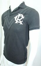 Polo Ralph Lauren Custom-Fit Chevron Mesh Rugby Shirt Black NWT XSmall