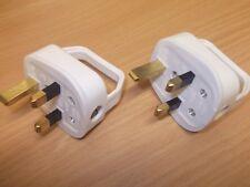 13 Amp Blanco fáciles Enchufe TOP. Fácil removedor y INSERT