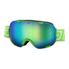 Dirty Dog NUOVO Mascherina da sci snowboard verde postcombustore in scatola