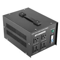 Voltage Regulator Converter Transformer 220v to 110V Step Up/Down 3000W