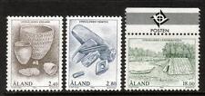 ALAND MNH 1994 SG87-89 THE STONE AGE SET OF 3