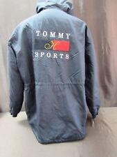 Tommy Hilfiger sports hood jacket coat men's XL?? Please read spell out black
