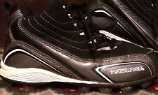 Youth's Rawlings Size 12 Athletic Sport Shoes Cleats Soccer Laces Black Boy's