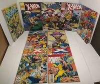 Marvel Comics Annuals Lot X-Men 2/Uncanny X-Men 15,17,18/X-Force2,3/XFactor6,8,9