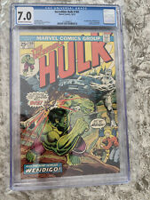 Incredible Hulk #180 CGC 7.0 Off White To White Pages 1st Wolverine