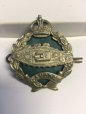 WWII Canadian Armoured Corp Hat Badge