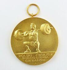 #e8024 Medal: Polski zwiazek podnoszenia ciezarow Lift Weights