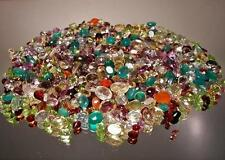 1,000+ CT MIXED GEMSTONES LOT LOOSE NATURAL  GEM STONES WHOLESALE MIXED GEM LOT