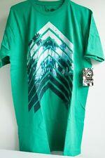 Ocean Current Malibu Surf Mens T-shirt Size L Surfing Apparel Green Soft Tee