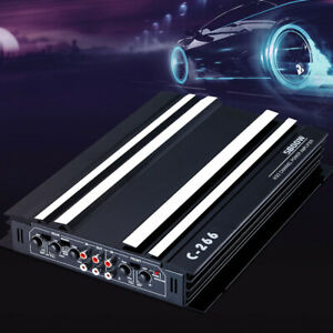 5600W Car Amplifier 4 Channel Stereo DC 12V Power Amp Audio Truck Speakers