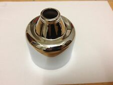 AUSTIN WESTMINSTER BRAND CHROME CARBURETTER COVERS X 2 FREE UK POST