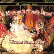 A Midsummer Night's Dream - Unabridged MP3 CD Audiobook in CD jacket