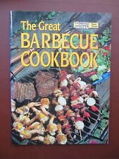 Cook Book GREAT BARBECUE Recipes Party Picnic Cookery Australian Womens Weekly