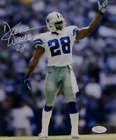 59c9c256 Darren Woodson Autographed *White Dallas Cowboys 8x10 Pointing Photo- JSA W  Auth