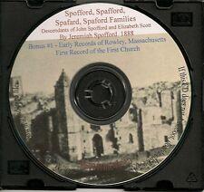Spofford, Spafford, Spaford Family Histories