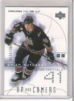 2001-02 UD CHALLENGE FOR THE CUP BRIAN SUTHERBY ROOKIE #rd 1000