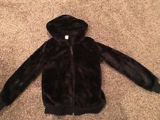 Arizona Girls Size 14 Faux Fur Coat Brown