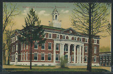 Il Monmouth Rotogravure 1910's Wallace Hall at Monmouth College by Pck No.13086