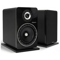 Elipson Prestige Facet 8B Bookshelf Speakers - Black (New!)
