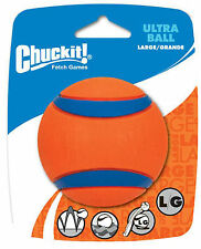 Chuckit Ultra Ball Chuck It Fetch Toy 1x Large Size 7.3cm Tough Durable Floating