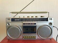 SHARP GF-4747 magnétophone à cassettes radio boombox ghettoblaster