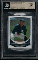 BGS 10 PRISTINE MIGUEL ANDUJAR 2013 Bowman Chrome Mini #195 Yankees Rookie RC