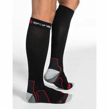 Skins Men's Active Essentials Compression Socks Red/Black XS