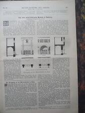 1890 Nicaragua Kanal Teil 2 Kaiser Wilhelm Denkmal Rheinprovinz