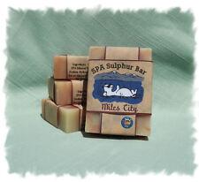 Phoenix Axe _ Miles City SPA Sulphur Mineral Soap Made in Montana Handmade