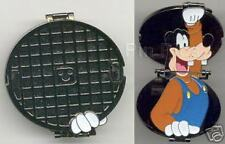 Disney Pins WDW Hinged Manhole Cover Goofy LE 3500