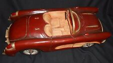 1957 CORVETTE LARGE DECORATIVE COLLETIBLE  VINTAGE MODEL CAR