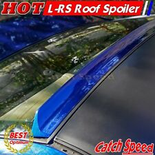 Flat Black LRS Type Rear Roof Spoiler Wingr For Honda Civic 2012-2015 Coupe ♘