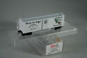 N Scale 42060 Micro Trains MTL 40' Potlatch Forests Pres-to-logs Box Car