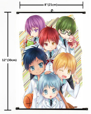 Anime Kuroko no Basket  Wall Scroll Poster cosplay 1678