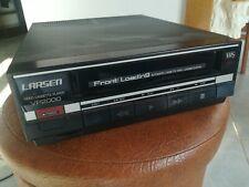 RARE! Larsen Vp2000 Vhs Front Loading 1970s video Registratore Vintage no scart