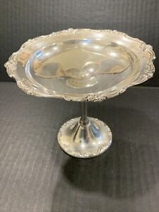 GORHAM STERLING SILVER TAZZA OR FOOTED DISH